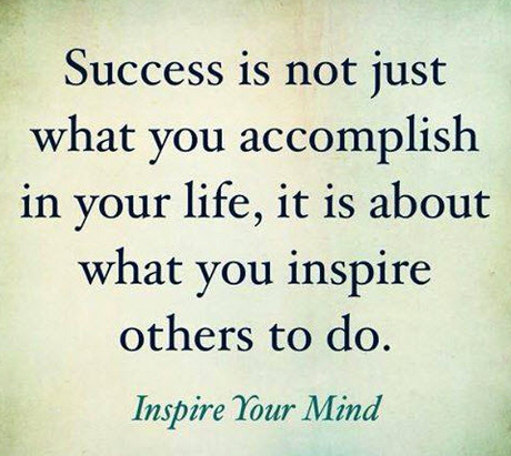 Success and Inspiration